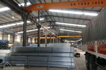 Cho thuê toàn bộ nhà máy DT: 4200m2/12.000m2 có VP điều hành 3 tầng tại KCN Lương Sơn, Hòa Bình