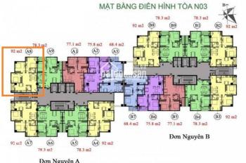 Tôi chính chủ cần bán gấp CC K35 Tân Mai, căn 1208 diện tích 92m2, giá 25tr/m2. LH 0904999135