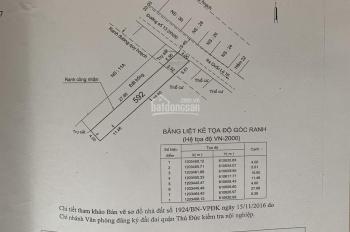 Cần bán nhanh 2 lô đất nằm MT đường 13, Linh Xuân, TĐ giá tốt (5,4 tỷ/1 lô)