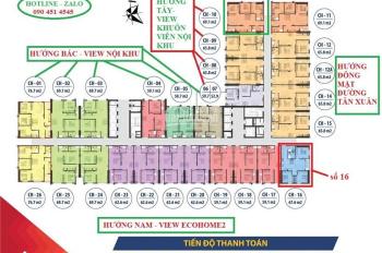 Chung Cư Ecohome 3 - căn góc 3PN - giá trị chỉ 1,5 tỷ - nhà ở số 1 Hà Nội