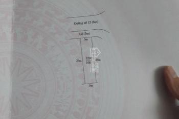 Chính chủ cần bán đường 15 khu dân cư Thanh Yến 1,1 tỷ/100m2
