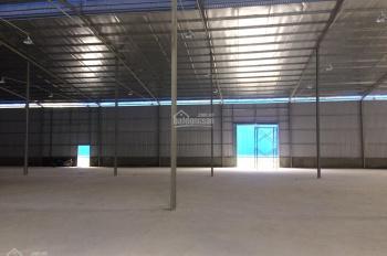 Cho thuê kho xưởng KV gần cầu Thanh Trì, diện tích đa dạng, hotline 0819940000