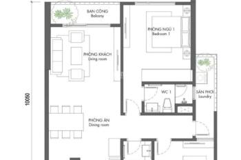 Chính chủ cho thuê căn hộ 78m2 tầng 12 chung cư Premier Berriver 390 Nguyễn Văn Cừ full đồ 12tr/th