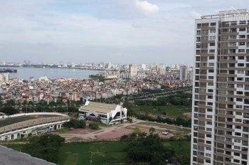 Cho thuê căn hộ 2PN đẹp nhất khu Ngoại Giao Đoàn, view toàn bộ Hồ Tây. LH: 0944428786