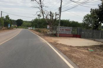 Đất nền thổ cư MT HL415 32m, kế bên công an huyện Bắc Tân Uyên, sổ đỏ sang tên ngay, 100m2, 590tr