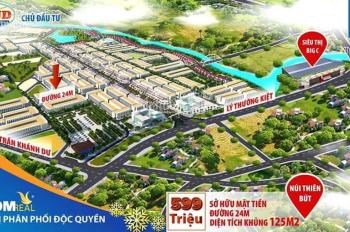 Bán đất cạnh siêu thị BigC trung tâm TP Quảng Ngãi chỉ với 1,x tỷ