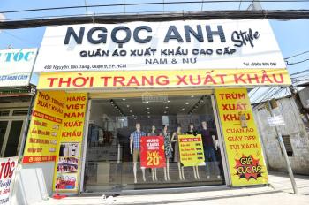 Cho thuê mặt bằng mặt tiền rộng 8m, đường Nguyễn Văn Tăng, Quận 9