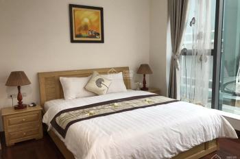 Cho thuê tòa căn hộ 120m2, 8 tầng lô góc, ngõ to tòa nhà nằm trong ngõ phố Linh Lang, Ba Đình, HN