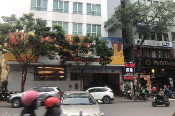 Cho thuê nhà mặt phố Nguyễn Du 115m2 x 6 tầng, mặt tiền 10m, riêng biệt, LH: O946850055