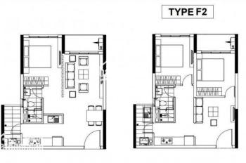 Bán căn hộ 1PN 53m2 lô F khu Emerald tầng 11 mới đóng 300tr, trả 50% bàn giao nhà luôn, 0964435529