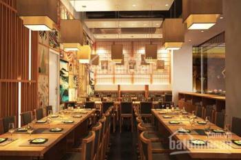 Sang nhượng nhà hàng phố Hàng Điếu, DT T1: 85m2, T2: 40m2, MT 3.5m, giá thuê 45 triệu/tháng