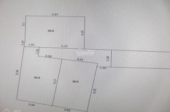 Cần bán gấp mảnh đất thổ cư 100% tại ngõ 7 Cổng Làng Hà Trì 1, Hà Cầu, Hà Đông