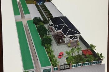 Sang nhượng lại đất dự án biệt thự vườn và 60 phòng trọ,Tân Phú Trung,Củ Chi DT 36x98m, 100% thổ cư