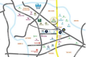 Đất thành phố Thuận An liền kề TTTM Vincom đã có sổ