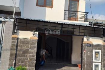 Bán nhà sổ hồng riêng ấp 4 xã Đa Phước DT 5x16m (82m2)1 trệt, 1 lầu 4PN, sân thượng, đường xe tải