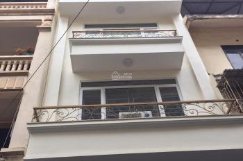Cho thuê nhà MP Mễ Trì Thượng - Nam Từ Liêm. DT 60m2, 7 tầng thông sàn có thang máy, giá 35 tr/th