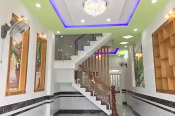 Nhà mới 1T2L 3PN hẻm 1/ ngắn Nguyễn Ảnh Thủ, Q12