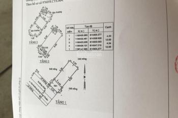Bán nhà trệt 2 lầu, cách khu CNC Q9 500m đường Bưng Ông Thoàn