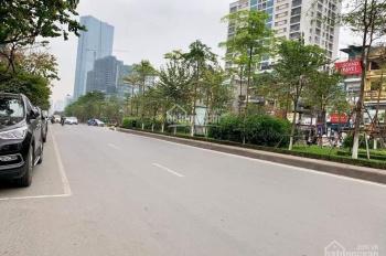 Bán nhà mặt phố Hoàng Quốc Việt 205m2 nhà 7 tầng, mặt tiền 6,5m