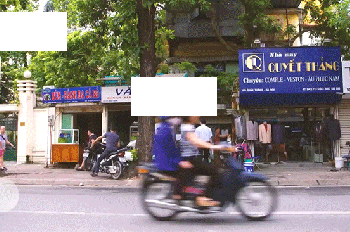 Cho thuê mặt bằng phố Quán Thánh diện tích 80m2+lửng 45m2, mặt tiền 8m giá 50tr/th. LH 0338998398