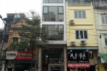 Cho thuê nhà mặt phố Khâm Thiên, ngã tư Ô Chợ Dừa, 2 MT 100m2x7T, 120tr/tháng - LH 0985602390