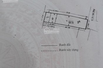 Nhà nát 1 trệt 1 lầu, Tân Hòa Đông, 50m2, hẻm 3m