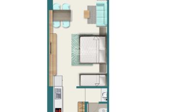 Chính chủ bán gấp căn hộ Tropical Quy Nhơn Melody, 2 PN 1 WC, view biền, giá 2.450 tỷ, 0792366350
