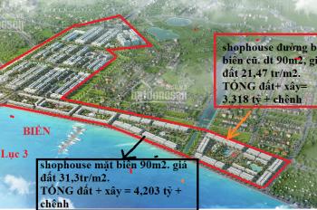 Shophouse mặt biển Hawaii giá rẻ nhất thị trường FLC Tropical City view bến du thuyền Hà 036930582