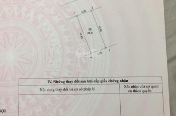 Tôi cần bán gấp 45 m2 đất phố Nguyễn Viết Xuân; LH: 0967265166