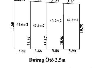 Bất động sản Vũ Mến chấp nhận tung giá khuyến mại siêu hấp dẫn chỉ từ 310 triệu đến 330 triệu/ 1 lô
