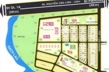 Cần bán đất nền thuộc KDC Phi Long 5, MT Nguyễn Văn Linh, Bình Chánh, giá 15tr/m2, 0707.727.727 Hải