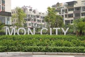 Bán Shophouse biệt thự liền kề đẳng cấp Mon City, thang máy, ô tô vào nhà KD sầm uất 21.5 tỷ