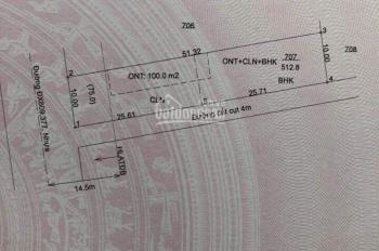 Bán lô góc 2 mặt tiền đường nhựa 12m tại Phú An. 10x52 giá chỉ có 2,5 tỷ. Đường nhựa kinh doanh