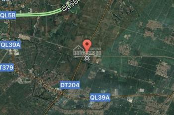 Bán dự án xăng dầu 17.000m2 tại Hồng Tiến - Khoái Châu - Hưng Yên (nút giao cao tốc Yên Mỹ)