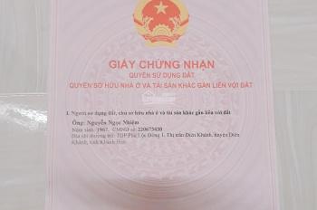Bán nhà mặt tiền QL1A, Trường Hoàng Hoa Thám, Thị Trấn Diên Khánh, Khánh Hòa