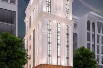 Bán gấp tòa khách sạn đối diện Marriott: DT 200m2, MT 9m, 9tầng, cho thuê 400tr/ th, giá 116 tỷ