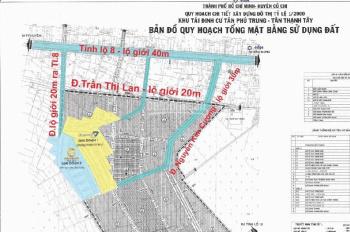 Dự án Diamond City nằm ngay ngã tư Tân Quy, giá chỉ 1 tỷ 350tr/nền