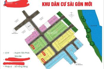 Bán đất khu dân cư Sài Gòn Mới - Huỳnh Tấn Phát - TT Nhà Bè, 4x13m, giá 2,5 tỷ thương lượng