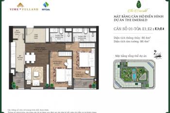 Bán 207 căn hộ The Emerald cập nhật 5/2020. Mình là cư dân đang sống tại đây nên am hiểu dự án