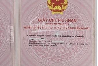 Bán đất TC ngay góc công an Bắc Tân Uyên, DT 120m2/600 triệu, sổ hồng chính chủ, LH 0913 335 395