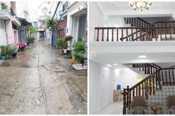Bán nhà mới đẹp hẻm xe hơi đường Nguyễn Văn Khối, Phường 9, Quận Gò Vấp DT 3.95x12.22m