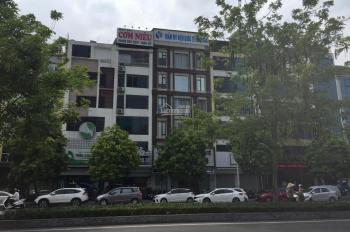 Cho thuê nhà mặt phố Nguyễn Văn Huyên 170m2 x 3 tầng mt 8m siêu đẹp gần phố Cầu Giấy