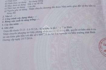 Bán đất đường Huỳnh Thị Tươi, bán đất KDC Biconsi, mặt đường buôn bán