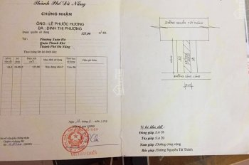 Chính chủ Bán lô đất số 705 mặt tiền Nguyễn Tất Thành nhìn trực tiếp ra biển. LH: 0938.917.985