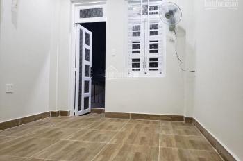 Phòng cho thuê mới xây, 25m2, WC riêng, máy lạnh, an ninh, giờ giấc tự do