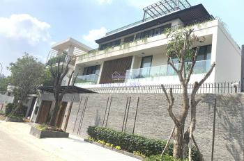 Cho thuê biệt thự 12x20m gara trệt 3 lầu đường Nguyễn Văn Hưởng, P. Thảo Điền, Quận 2