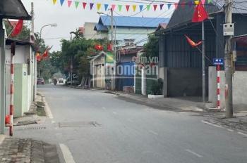 Bán 107m2 đất thổ cư mặt đường lớn Liên Xã kinh doanh buôn bán tốt tại xã Vân Nội, huyện Đông Anh
