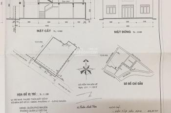 Bán nhà đường Huỳnh Văn Bánh, Phú Nhuận, 9,8x12m 16,6 tỷ