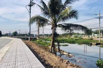 Đất mặt tiền Đỗ Văn Dậy, nối dài ngay Cầu Xáng, Hóc Môn, 80m2 giá 1,5 tỷ, SHR
