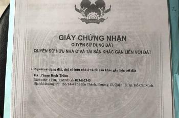 Làm ăn thua lỗ cần bán gấp căn nhà ngay trung tâm Bình Tân giá 5.3 tỷ